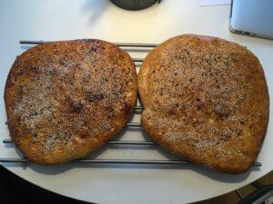 nybakta döner-bröd