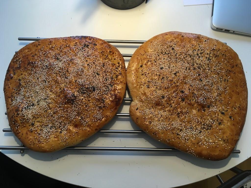 Recept på bröd till döner kebab